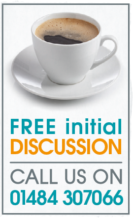 graphic - free initial discussion call 01484 307066