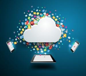 Tablets & Cloud - Freedigtialphotos (CREDIT THIS)