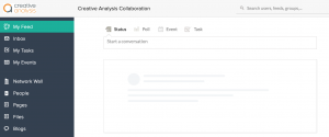 Zoho Connect is a private social network for your organisation