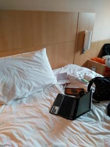 Hotel living for a digital nomad