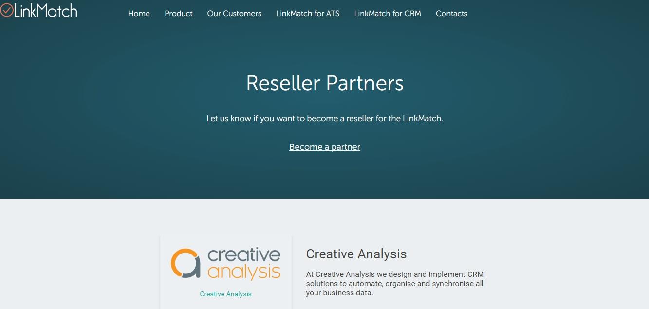LinkMatch, Creative Analysis, partnership, CRM, Zoho, LinkedIn